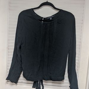 Black American Eagle blouse